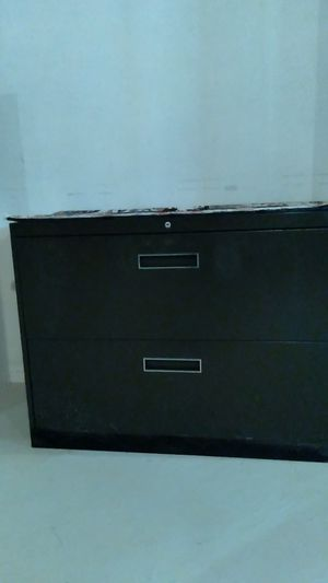 Drawer double wide file cabinets for Sale in Sterling Heights, MI