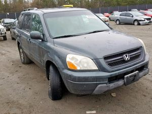 2003 HONDA PILOT EXL 3.5L592338 Parts only. U pull it yard cash only. for Sale in Temple Hills, MD