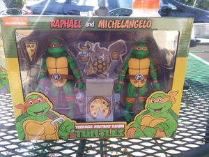TMNT Neca 2 pack for Sale in Pico Rivera, CA