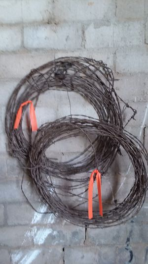 Old Barbed Wire Rolls, By the foot for Sale in San Angelo, TX