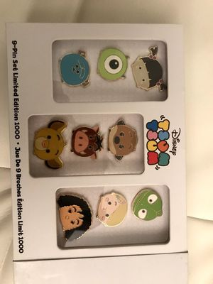 Tsum tsum disney pins limited edition 1000 for Sale in West Los Angeles, CA