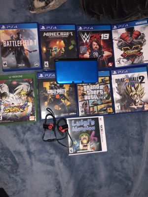 PS4 GAMES / 3DS / PowerBeats 3 for Sale in Queens, NY