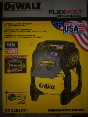 Cordless air compressor kit for Sale in Federal Way, WA