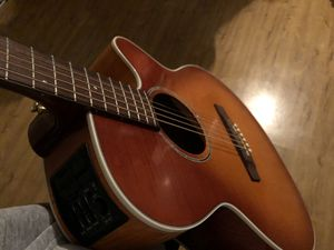 Takamine Electric and Acoustic Series with New Fender Bag for Sale in Tacoma, WA