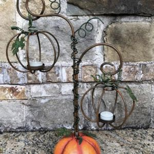 Home Interiors /Ch Pumpkins Candle Holders for Sale in Dallas, TX