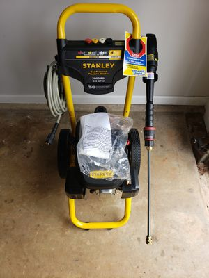 Stanley pressure washer for Sale in Buford, GA