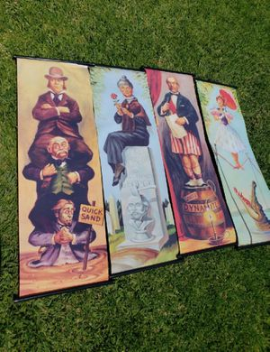 Haunted Mansion stretching room portraits for Sale in Chino, CA
