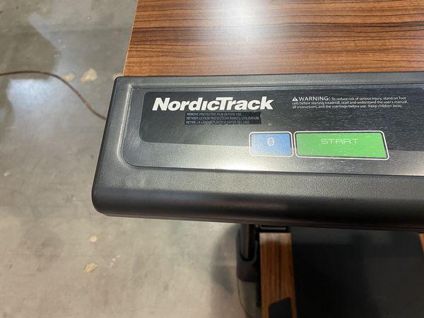 NordicTrack Walking Desk Treadmill with USB
