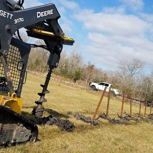 Skid Steer Bobcat Auger for Sale in Houston, TX