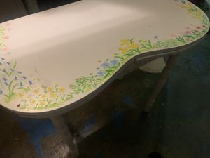 Folk art table/desk/vanity for Sale in Manteca, CA