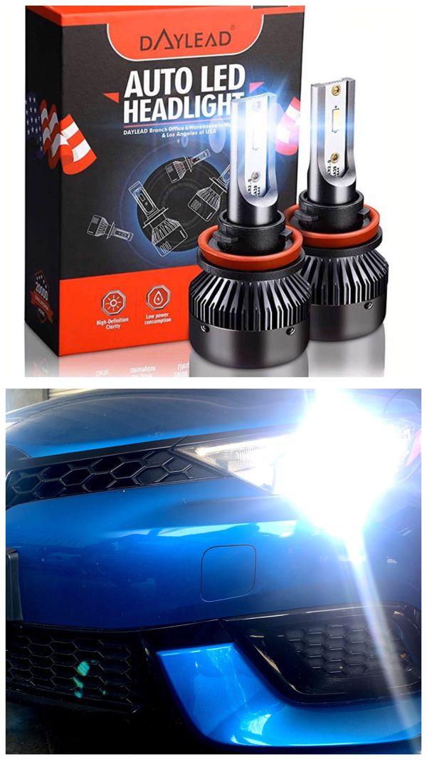 LED headlights or fog lights for ALL cars $25 & FREE license plate led