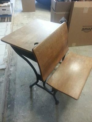 Antique School Desk for Sale in Las Vegas, NV