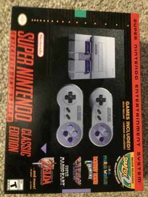 Nintendo Super NES Classic for Sale in Marietta, GA