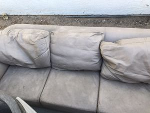 Leather couch for Sale in Las Vegas, NV