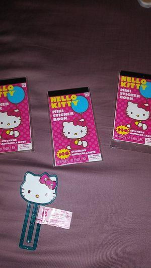 HELLO KITTY MINI STICKERS BOOK/ BOOKMARK EACH ONE $1.50 for Sale in Covina, CA