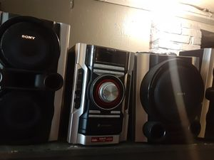 Sony Stereo System for Sale in Belleville, NJ