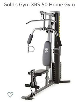 New Gold's Gym XRS 50 Home Gym with up to 280 lbs of Resistance . !!!FIRM PRICE!!! for Sale in Pasadena, CA