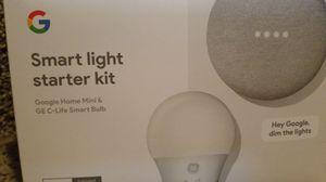 Google Smart Light Kit 1 Smart Bulb Home Mini HUB for Sale in Olmsted Falls, OH