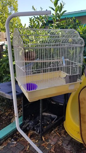 Bird cage with stand. for Sale in Sacramento, CA