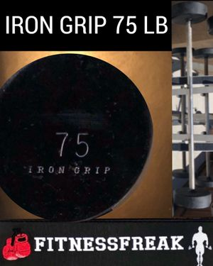 IRON GRIP 75 Lb fixed steel bar for Sale in El Cajon, CA
