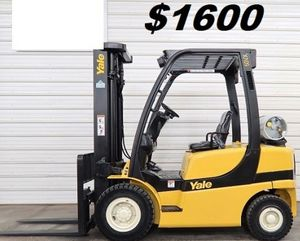 $1600 For sale 2006 Yale GLP050 for Sale in Richmond, VA