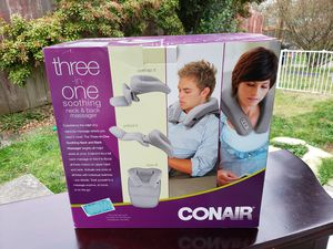 Conair Three-in-one Soothing Neck & Back Massager for Sale in Everett, WA