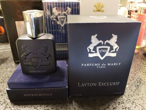 Layton Exclusif edition royale 75 ml cologne perfume fragrance EDT EDP for Sale in Houston, TX