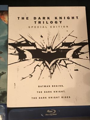 The Dark Knight Trilogy Special Edition Blu-ray for Sale in Gardena, CA