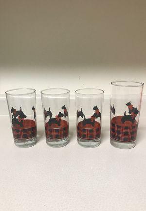 Scottie glasses for Sale in Oshkosh, WI