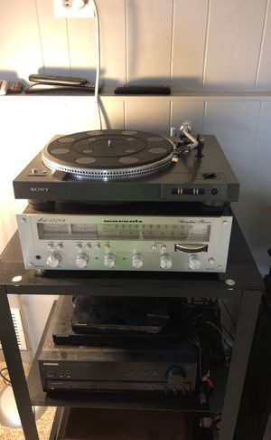 Sony ps-x6 turntable and marantz 2226B receiver for Sale in Highland, IN