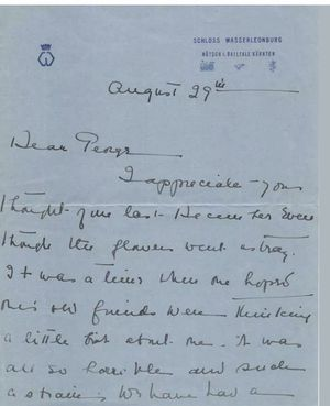 Reduced. Duchess of Windsor-King Edward VIII letter for Sale in Beverly Hills, CA