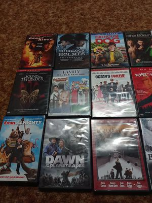 Movies dvds all $2.00 each for Sale in Denver, CO