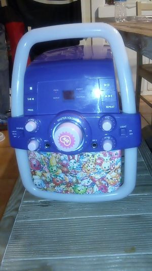 Shopkins karaoke and CD player for Sale in Fresno, CA