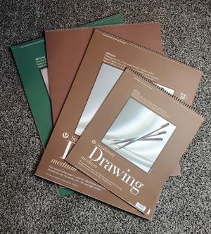 Art Supplies: Four New Strathmore Drawing Pads for Sale in Kenosha, WI