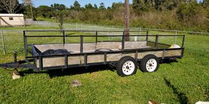 Double axle trailer for Sale in Palm Bay, FL