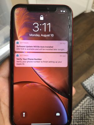 iPhone XR (carrier locked with AT&T) best offer for Sale in Tyler, TX