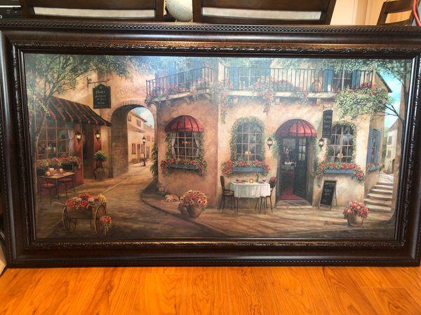 Large print painting