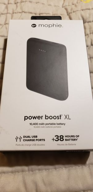 Mophie power boost XL portable battery for Sale in Fort Lauderdale, FL