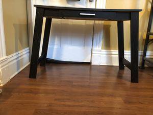 Black desk, console table for Sale in Chicago, IL