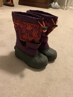 GIRLS Columbia Powderbug snow boots, size 1, NEW for Sale in Lake Oswego, OR