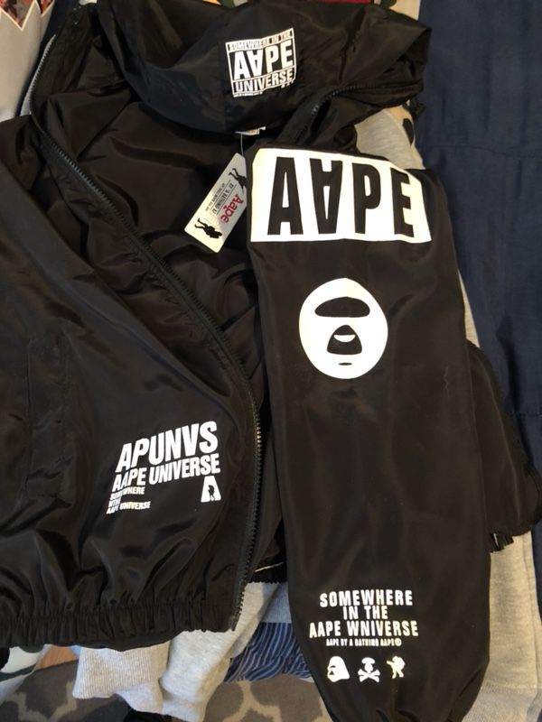 AAPE by A Bathing Ape windbreaker. Brand new tags on, Authentic *