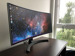 34'' UltraWide HD Curved LED Monitor for Sale in Seattle, WA