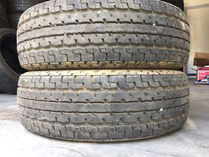 ST225/75r15 trailer 225/75/15 used tires 225/75r15 for Sale in Phoenix, AZ