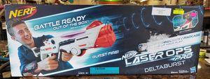 NEW Nerf Laser Ops Pro Deltaburst Battle Ready Lazer Tag Gun for Sale in Burlington, NJ