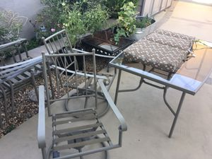 7 pc patio furniture with 6 pads for Sale in Rancho Cucamonga, CA