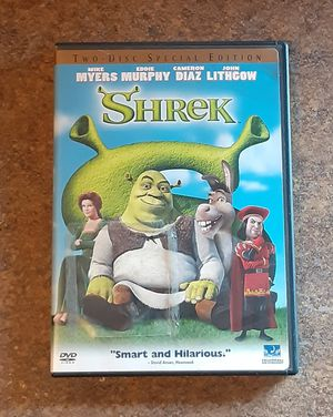 Shrek Special Edition Two-Disc DVD Movie for Sale in Fox Lake, IL