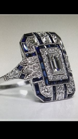 Sapphire and Diamond Ring for Sale in Mt. Juliet, TN