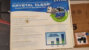 Saltwater System for above ground pool for Sale in Tucson, AZ