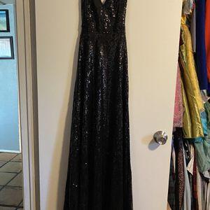 Black Sequence Dress - Formal Dress - Women's Dress - Women's Clothing - Fancy Black Dress - Size Medium - Wedding Dress for Sale in Chandler, AZ