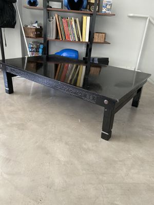 Antique Japanese Coffee Table w folding legs for Sale in Los Angeles, CA